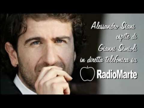 Alessandro Siani Ospite Di Gianni Simioli A Radio Marte Youtube