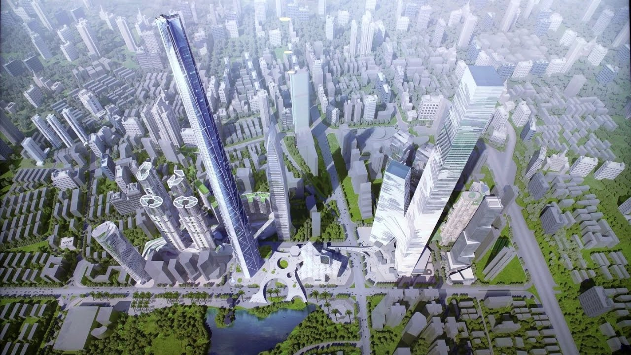Future Tallest Building In The World Under Construction future china : shenzhen tallest building projects and proposals