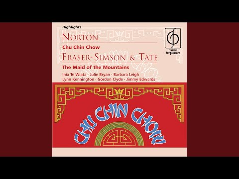 Chu Chin Chow [three numbers] (A musical tale of the East in two acts · Book and lyrics by...