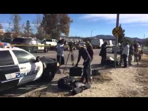 Breaking News: On-Location Coverage at Mass Shooting in San Bernadino, California
