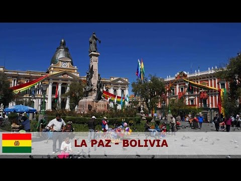 La Paz - Bolivia - The sights of this beautiful city