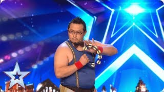 FIRST LOOK: Have you ever seen 'Livin' La Vida Loca' played on a Tambourine? | BGT 2019