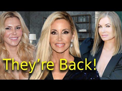 Lisa Rinna Calls Lisa Vanderpump A Narcissist? Eileen Brandi & Camille Return RHOBH Housewives News!