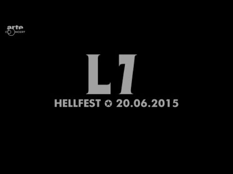 L7   Live In Hellfest 2015