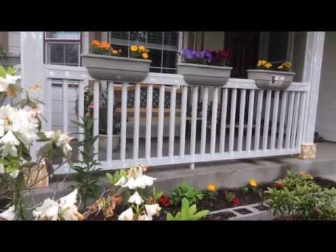 Как сделать красивую клумбу для цветов перед домом. Наши идеи…