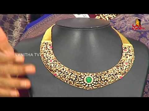 Best Gold And Diamond Combination Sets | Navya - Diamond Jewellery Sets | Vanitha TV