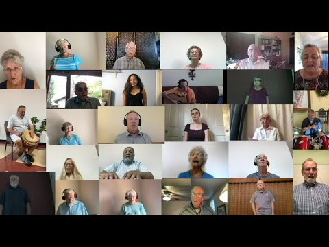 Stand By Me  -  Most Holy Trinity Virtual Choir, composed by Tom Kendzia.