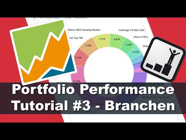 Branchen richtig zuordnen - Portfolio Performance Tutorial #3