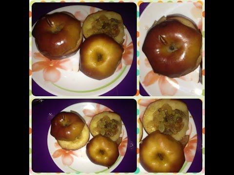 Яблочки в микроволновке