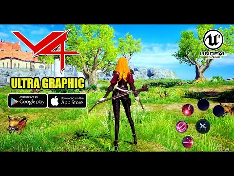 V4 (NEXON) GRAND OPEN | ANDROID/IOS ULTRA GRAPHICS GAMEPLAY
