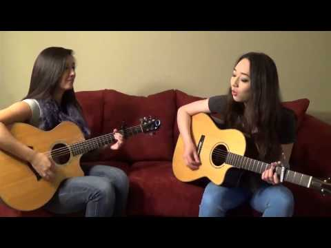 Ed Sheeran & Passenger - No Diggity vs. Thrift Shop (Live Cover by Mindy Braasch & Courtney Yovich)