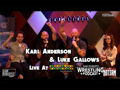 Luke Gallows & Karl Anderson - Live w Sam Roberts - Bullet Club, The Fink, etc