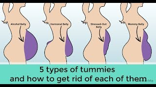 5 types of belly that aren