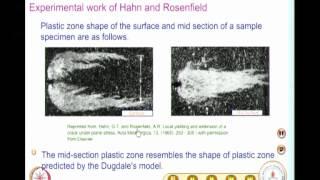 Dugdale Model