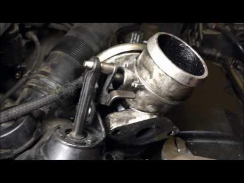 limpieza turbo Golf 4, Tdi - Turbo cleaning manual