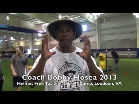 Coach Bobby Hosea - Heads Up Helmet Free Tackling Clinic and Drills 2013