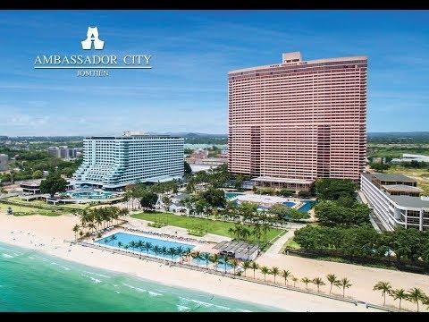 ВЫПУСК 5 (2 ЧАСТЬ). ДОЗОР НА AMBASSADOR CITY JOMTIEN PATTAYA HOTEL. SATTAHIP (PATTAYA). THAILAND.