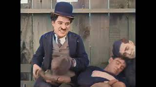 The Champion - Charlie Chaplin - color Version (Laurel & Hardy)