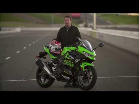 2018 Kawasaki Ninja 400 Test Drive Review Youtube