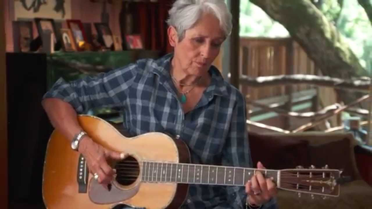 Joan Baez on activism, Vietnam, and the guitar