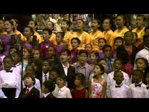 We Have This Hope/Lift Up The Trumpet Medley - 1,100 Voice Mass Choir 2015