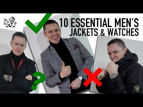 10 Essential Men's Jackets You Should Own & How To Match Them With Your Watch