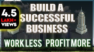 WORK LESS PROFIT MORE BUSINESS (HINDI) - E MYTH ANIMATED BOOK