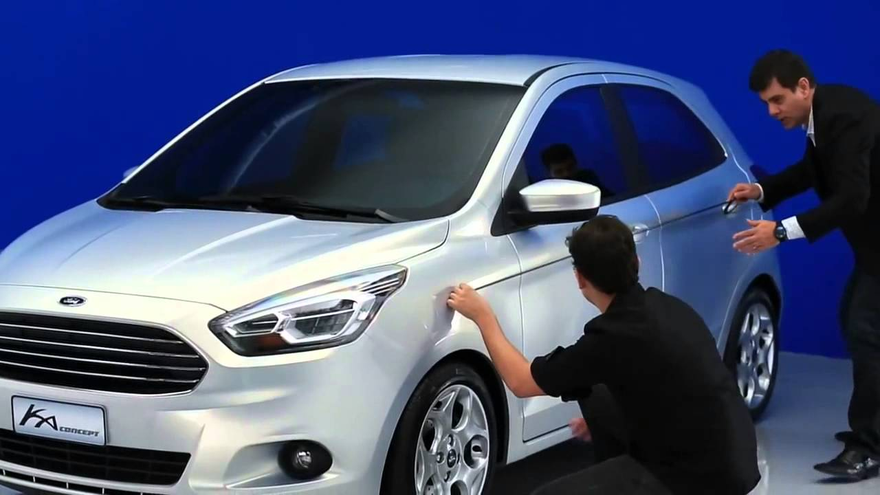 novo ford ka 2015 youtube. Black Bedroom Furniture Sets. Home Design Ideas