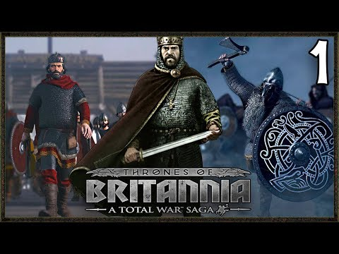 THE LAST KINGDOM! - Wessex Campaign - Total War Saga: Thrones Of Britannia Gameplay #1