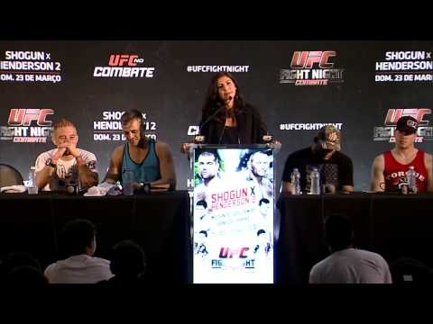 Fight Night Natal:  Post-fight Press Conference