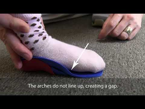 How to | Determine if a Fast Fit shoe insert is too small