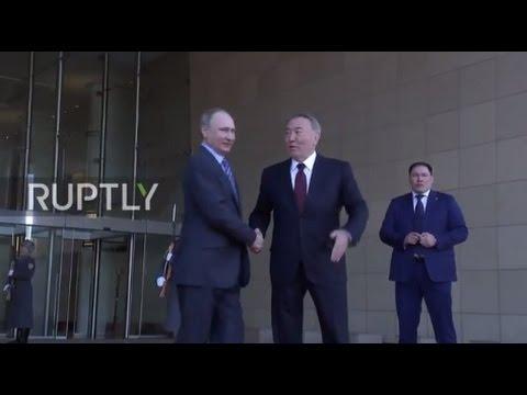 Kazakhstan: Putin hails his Kazakh counterpart Nazarbayev for hosting Syria talks