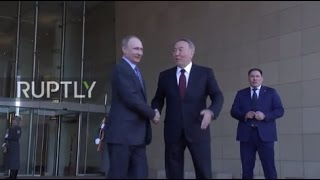 Kazakhstan  Putin hails his Kazakh counterpart Nazarbayev for hosting Syria talks
