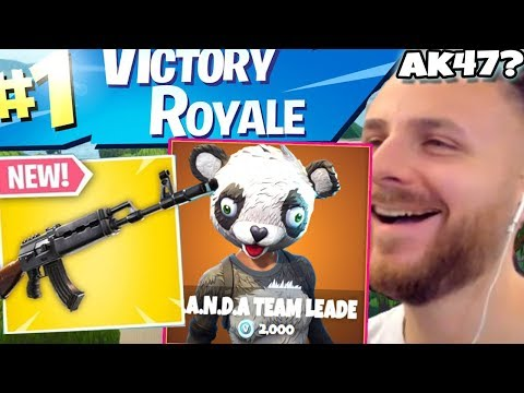 IRAPHAHELL FACE 3 VICTORY ROYALE PE FORTNITE CU NOUL AK47!