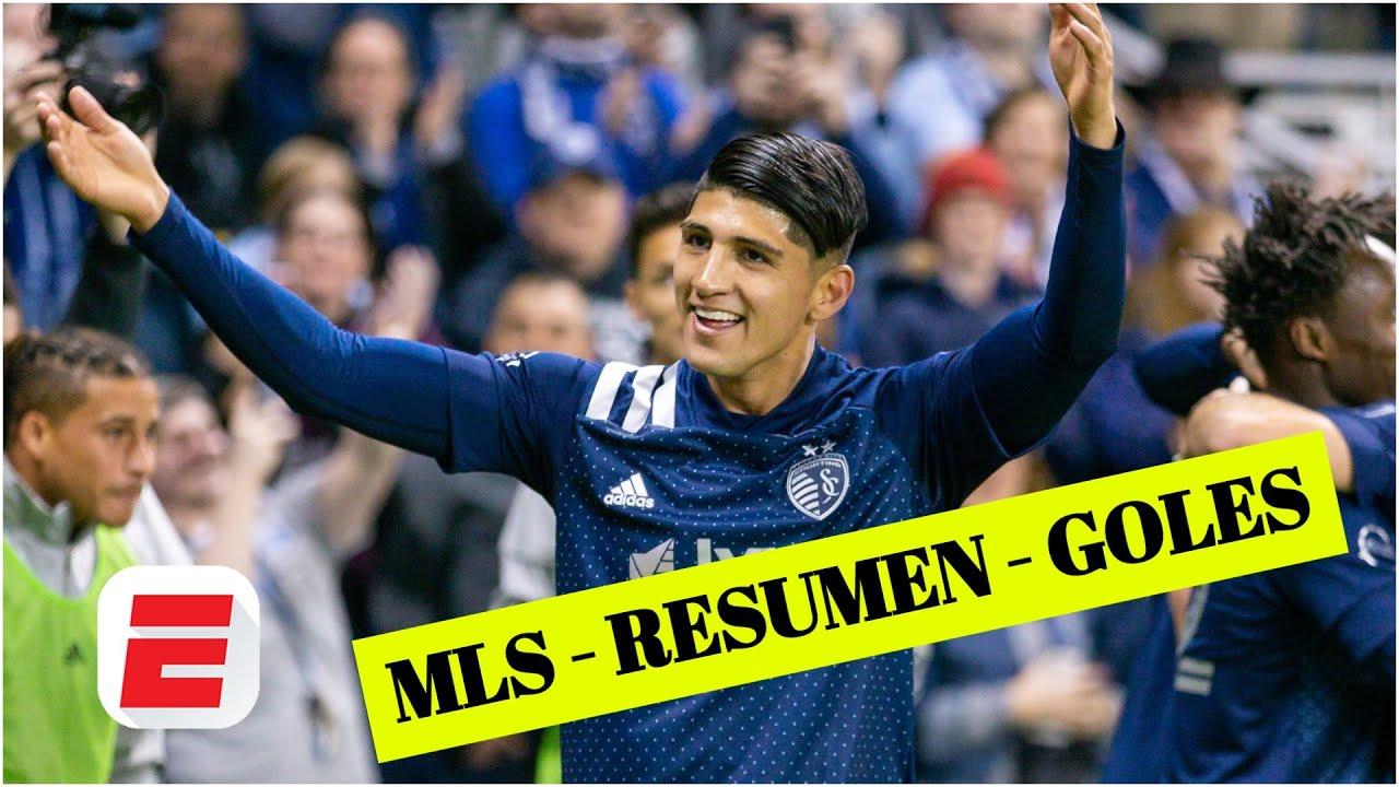 GOL DE ALAN PULIDO y además, el mexicano asistió. Sporting Kansas City 4-0 Dynamo   Goles de la MLS