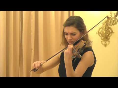 Rakele Chijenaite(Lithuania) 5th International Jasha Heifetz competition
