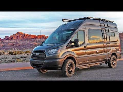 Ultimate 4x4 Ford Transit Camper Van Tour | Storyteller Overland Mode 4x4
