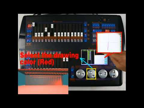 10 drawing controlling fixture (dmx controller 1024 hand drawing Stage Pin Connector 10 drawing controlling fixture (dmx controller 1024 hand drawing console)