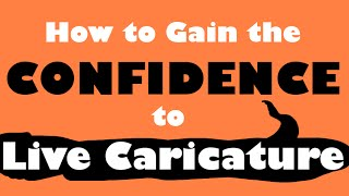 How to Caricature : How to Build Your Confidence for Live Caricatures - Easy Pictures to Draw