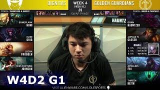 Dignitas vs Golden Guardians | Week 4 Day 2 S10 LCS Spring 2020 | DIG vs GG W4D2