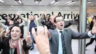 That T-Mobile 'Welcome Back' advert from a passenger's viewpoint