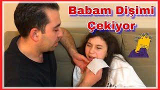 BABAM DİŞİMİ ÇEKİYOR |  My dad's gotten to me 😱😭