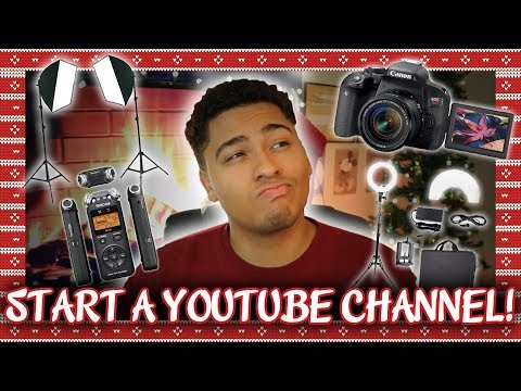 What To Buy To Start A YouTube! (+ How To Get Adobe Premiere Pro For Free)