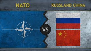 NATO vs RUSSLAND, CHINA | Wer hat das besseren Militär? Vergleich 2018
