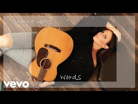 Sara Evans - Words (Audio)