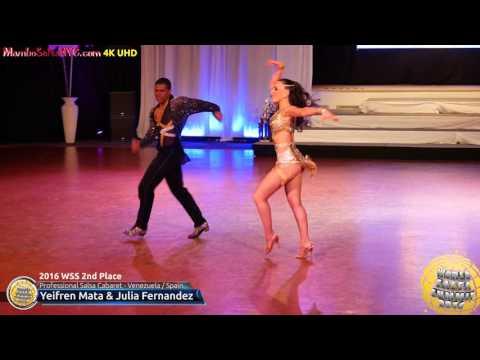WSS16 Professional Salsa Cabaret 2nd Place Yeifren Mata & Julia Fernandez