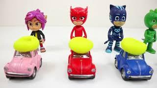 Pj Masks and VosVos Cars Funny Games