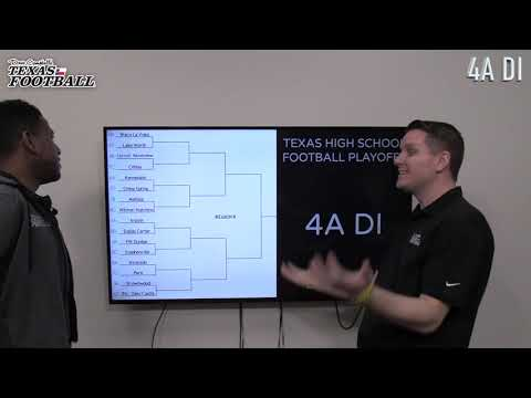 BRACKETOLOGY: 2019 Texas High School Football Playoffs - 4A DI