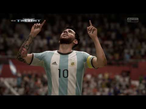 FIFA 18 | Argentina vs Brazil | 36-0 | 36 Goals Funny Gameplay (PC)
