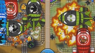 BTD Battles Mobile E135 - Crazy Amazing Late Game!
